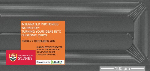 Integrated Photonics Workshop