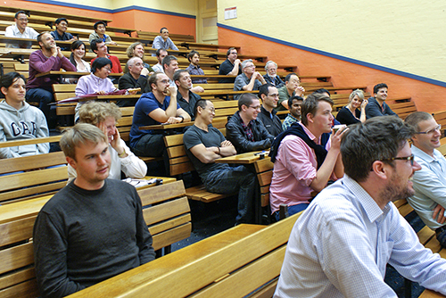 Audience at Photonics Day