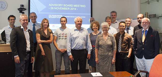 Advisory Board Meeting 26/11/2014